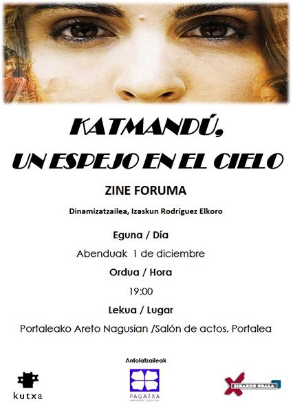 "Zine-foruma: ""Katmandu. Un espejo en el cielo"" @ Portalean (areto nagusian)"