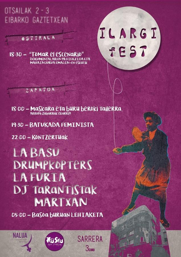 Ilargi Fest 2.0 @ Eibarko gaztetxean