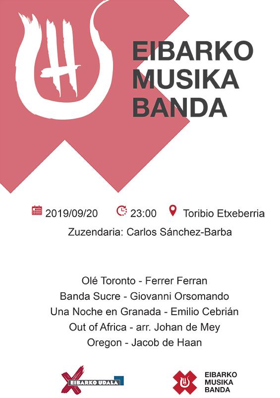Cielito musika banda (gaueko kontzertua) @ Toribio Etxebarria kalean