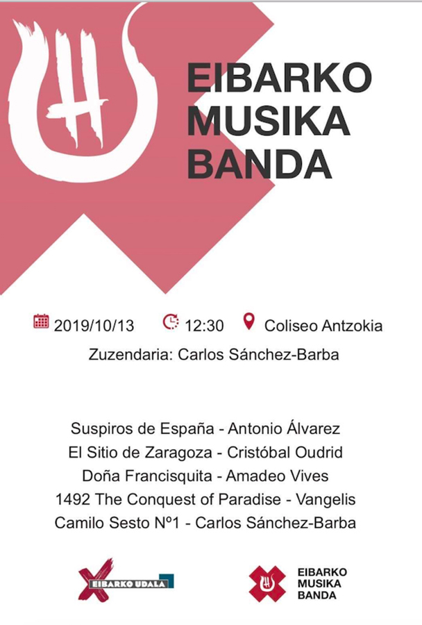 Kontzertua: Cielito musika banda @ Coliseo Antzokian