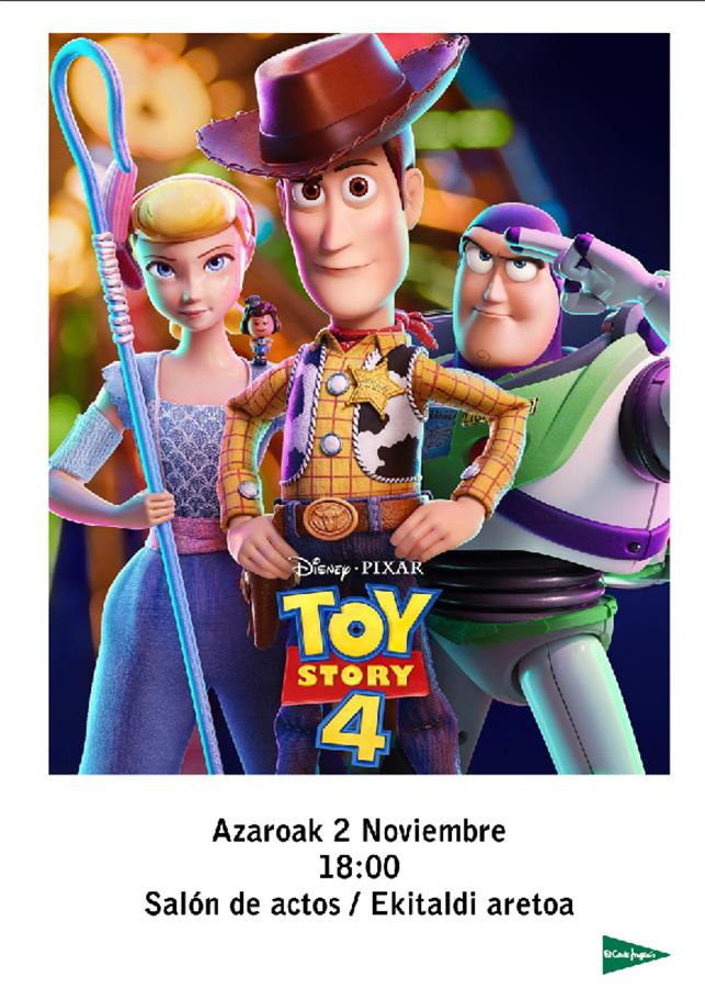"""Umeendako zinea: """"Toy Story 4"""" @ El Corte Inglesean (ekitaldi aretoan)"""