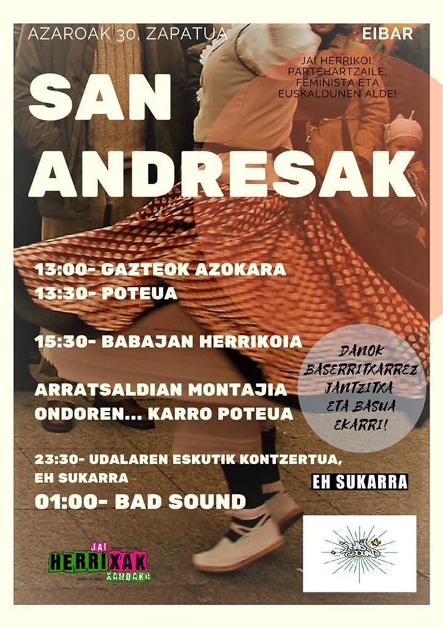 San Andresak 2019 (Jaixak Herrixak Herrixandako)