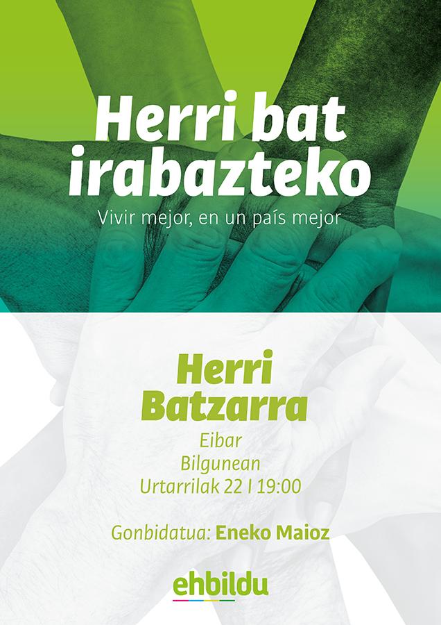 Batzar Irekia @ Bilgunea (Bita Eder, 2)