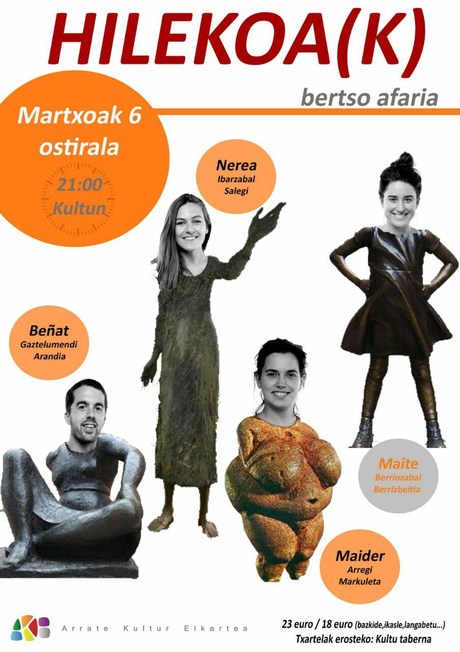 Bertso Afaria: Hilekoa(k) @ Arrate Kultur Elkartean