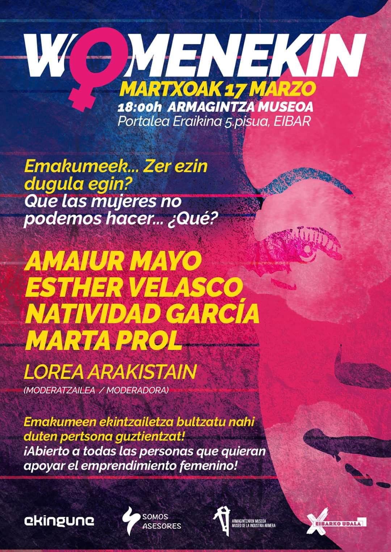 Womenekin @ Eibarko Armagintzaren Museoa