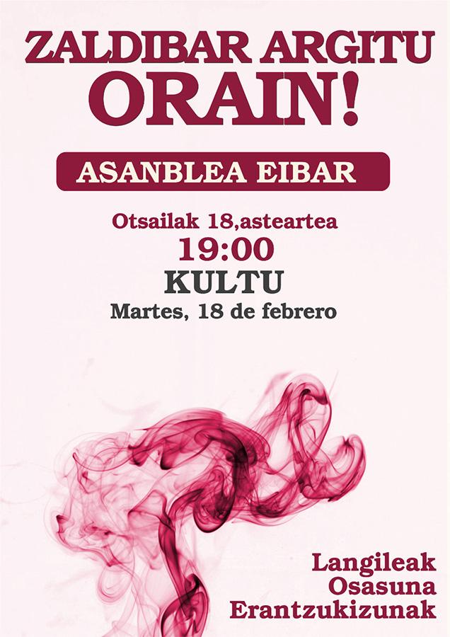 Zaldibar Argitu Orain! herri-plataformaren batzarra @ Arrate Kultur Elkartean