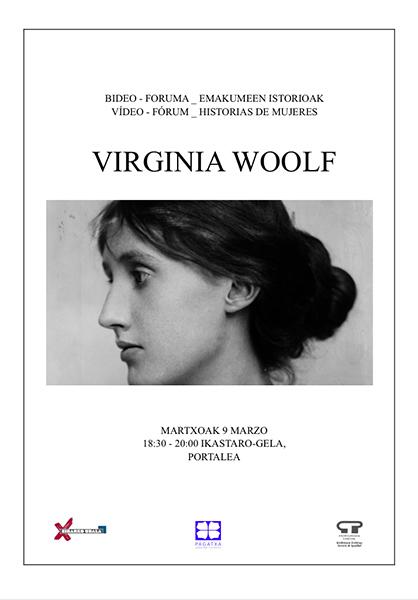Bideo Foruma: Virginia Woolf @ Portalean (ikastaro gelan)
